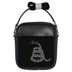 Gadsden Flag Don t Tread On Me Girls Sling Bags by MAGA