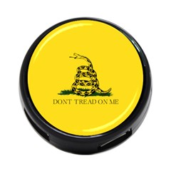 Gadsden Flag Don t Tread On Me 4 Port Usb Hub (one Side) by MAGA