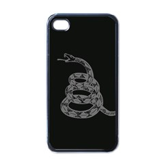 Gadsden Flag Don t Tread On Me Apple Iphone 4 Case (black) by MAGA