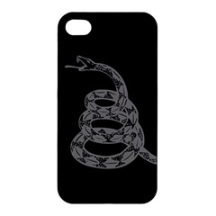 Gadsden Flag Don t Tread On Me Apple Iphone 4/4s Hardshell Case by MAGA