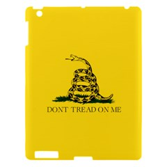 Gadsden Flag Don t Tread On Me Apple Ipad 3/4 Hardshell Case