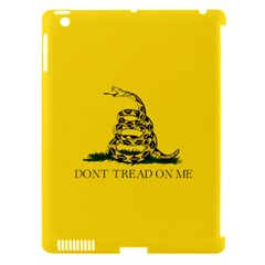 Gadsden Flag Don t Tread On Me Apple Ipad 3/4 Hardshell Case (compatible With Smart Cover) by MAGA