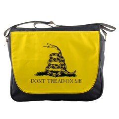 Gadsden Flag Don t Tread On Me Messenger Bags by MAGA