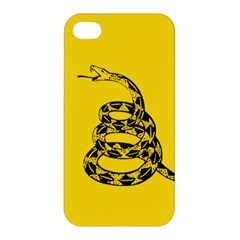 Gadsden Flag Don t Tread On Me Apple Iphone 4/4s Premium Hardshell Case