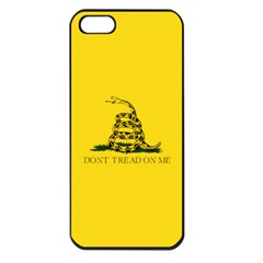 Gadsden Flag Don t Tread On Me Apple Iphone 5 Seamless Case (black) by MAGA