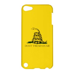 Gadsden Flag Don t Tread On Me Apple Ipod Touch 5 Hardshell Case by MAGA