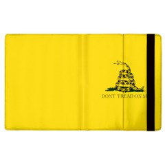 Gadsden Flag Don t Tread On Me Apple Ipad 2 Flip Case by MAGA