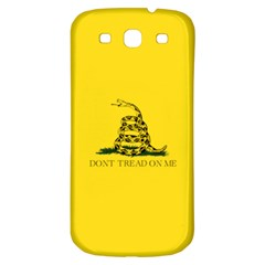 Gadsden Flag Don t Tread On Me Samsung Galaxy S3 S Iii Classic Hardshell Back Case by MAGA