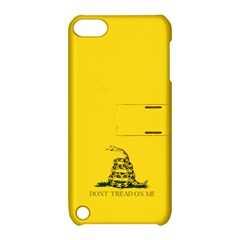 Gadsden Flag Don t Tread On Me Apple Ipod Touch 5 Hardshell Case With Stand by MAGA