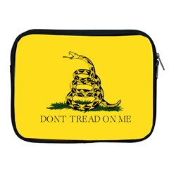 Gadsden Flag Don t Tread On Me Apple Ipad 2/3/4 Zipper Cases by MAGA