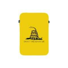Gadsden Flag Don t Tread On Me Apple Ipad Mini Protective Soft Cases by MAGA