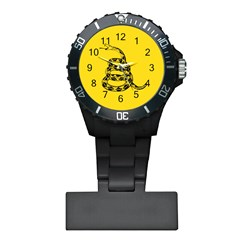 Gadsden Flag Don t Tread On Me Plastic Nurses Watch by MAGA