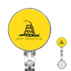 Gadsden Flag Don t Tread On Me Stainless Steel Nurses Watch by MAGA
