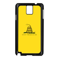 Gadsden Flag Don t Tread On Me Samsung Galaxy Note 3 N9005 Case (black) by MAGA