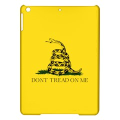 Gadsden Flag Don t Tread On Me Ipad Air Hardshell Cases by MAGA