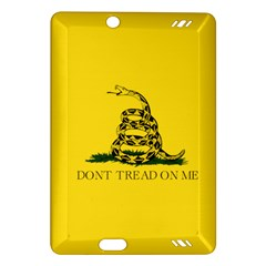 Gadsden Flag Don t Tread On Me Amazon Kindle Fire Hd (2013) Hardshell Case by MAGA