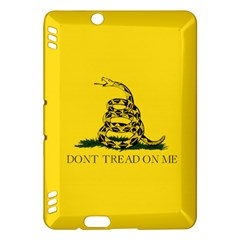 Gadsden Flag Don t Tread On Me Kindle Fire Hdx Hardshell Case by MAGA