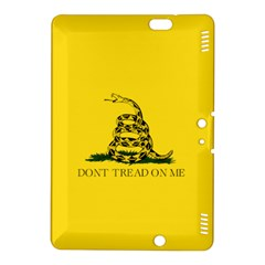 Gadsden Flag Don t Tread On Me Kindle Fire Hdx 8 9  Hardshell Case by MAGA