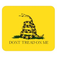 Gadsden Flag Don t Tread On Me Double Sided Flano Blanket (small)