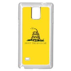 Gadsden Flag Don t Tread On Me Samsung Galaxy Note 4 Case (white) by MAGA