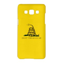 Gadsden Flag Don t Tread On Me Samsung Galaxy A5 Hardshell Case  by MAGA