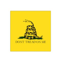 Gadsden Flag Don t Tread On Me Satin Bandana Scarf by MAGA