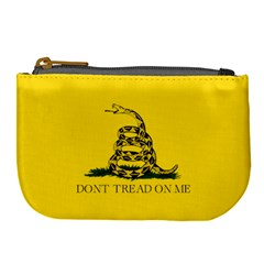 Gadsden Flag Don t Tread On Me Large Coin Purse