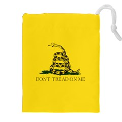 Gadsden Flag Don t Tread On Me Drawstring Pouches (xxl) by MAGA