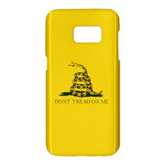 Gadsden Flag Don t Tread On Me Samsung Galaxy S7 Hardshell Case  by MAGA