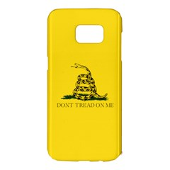 Gadsden Flag Don t Tread On Me Samsung Galaxy S7 Edge Hardshell Case by MAGA