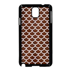 Scales1 White Marble & Reddish Brown Wood Samsung Galaxy Note 3 Neo Hardshell Case (black) by trendistuff