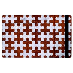 Puzzle1 White Marble & Reddish Brown Leather Apple Ipad Pro 9 7   Flip Case by trendistuff