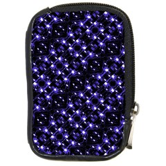 Dark Galaxy Stripes Pattern Compact Camera Cases by dflcprints