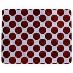 Circles2 White Marble & Reddish Brown Leather (r) Jigsaw Puzzle Photo Stand (rectangular) by trendistuff