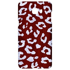 Skin5 White Marble & Red Wood (r) Samsung C9 Pro Hardshell Case  by trendistuff