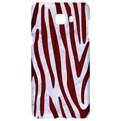 Skin4 White Marble & Red Wood Samsung C9 Pro Hardshell Case  by trendistuff