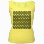 xmas0050 Women s Yellow Tank Top