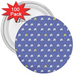 xmas0050 3  Button (100 pack)