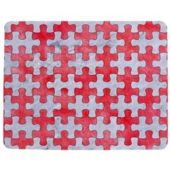 Puzzle1 White Marble & Red Watercolor Jigsaw Puzzle Photo Stand (rectangular) by trendistuff