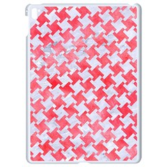 Houndstooth2 White Marble & Red Watercolor Apple Ipad Pro 9 7   White Seamless Case by trendistuff