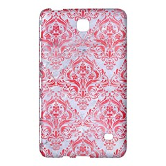 Damask1 White Marble & Red Watercolor (r) Samsung Galaxy Tab 4 (8 ) Hardshell Case  by trendistuff