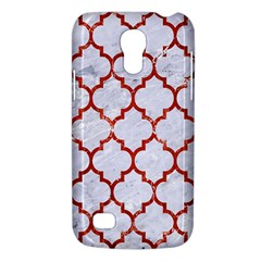 Tile1 White Marble & Red Marble (r) Galaxy S4 Mini by trendistuff