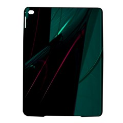 Abstract Green Purple Ipad Air 2 Hardshell Cases by Sapixe