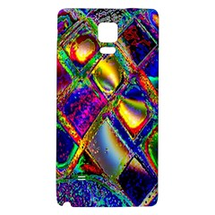 Abstract Digital Art Galaxy Note 4 Back Case by Sapixe