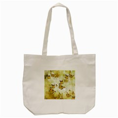 Adorable Butterflies, Yellow Tote Bag (cream) by MoreColorsinLife