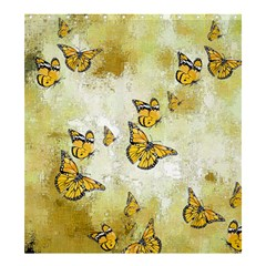 Adorable Butterflies, Yellow Shower Curtain 66  X 72  (large)  by MoreColorsinLife