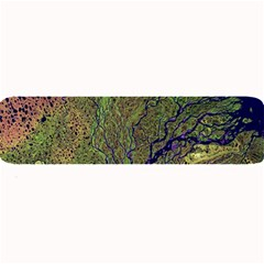 Lena River Delta A Photo Of A Colorful River Delta Taken From A Satellite Large Bar Mats