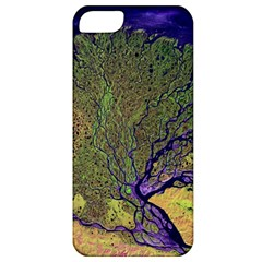 Lena River Delta A Photo Of A Colorful River Delta Taken From A Satellite Apple Iphone 5 Classic Hardshell Case