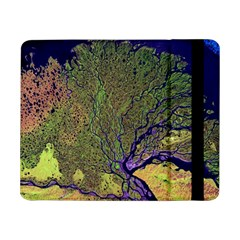 Lena River Delta A Photo Of A Colorful River Delta Taken From A Satellite Samsung Galaxy Tab Pro 8 4  Flip Case