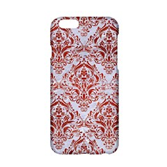 Damask1 White Marble & Red Marble (r) Apple Iphone 6/6s Hardshell Case by trendistuff